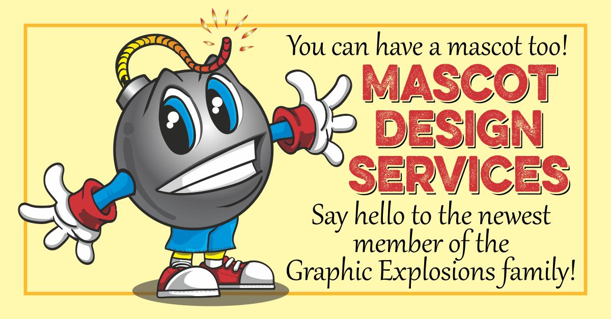 Graphic Explosions Mascot Design Service