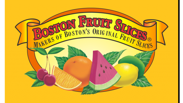 Boston Fruit Slices Logo Recreation
