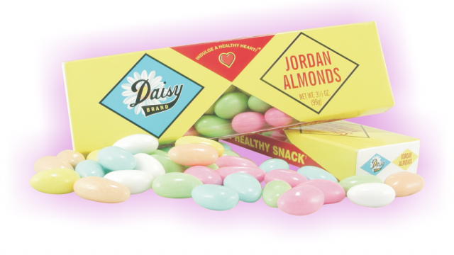 Daisy Jordan Almonds Packaging Design