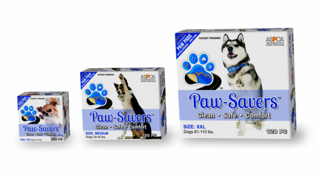 Paw Savers Packaging Design
