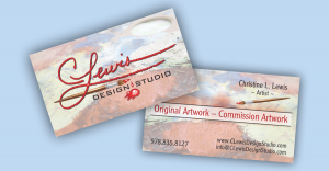 CLewis Design Studio Business Cards
