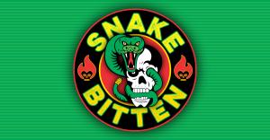 Graphic Explosions Snake Bitten Logo